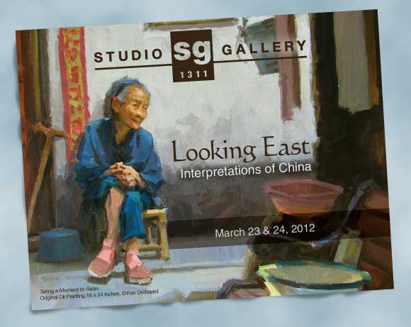 Postcard for Studio Gallery 1311