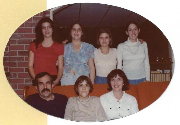 family photo circa 1975